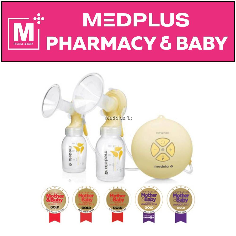 New 2019 Medela Swing Maxi Double Electric Breast Pump With Calma