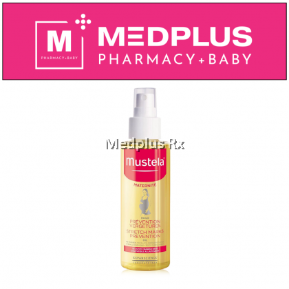 Mustela Stretch Marks Prevention Oil 105ml (Exp 10/2021)