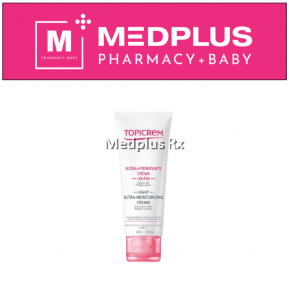 Topicrem Light Ultra-Moisturizing Cream 40ml (EXP 04/2021)